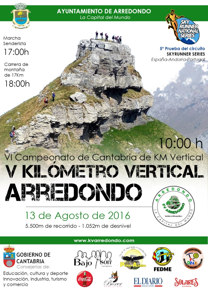 CARTEL - KV ARREDONDO 2016