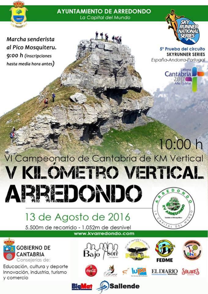 Cartel KV Arredondo 2016
