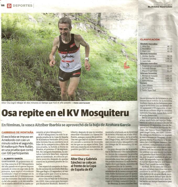 15.08.09-Diario Montañés KV Mosquiteru