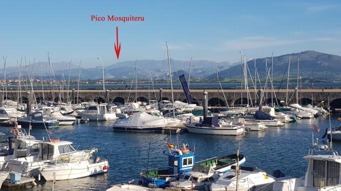 el Mosquiteru desde Santander con Flecha